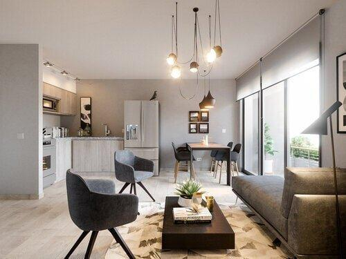 Elegancia y conveniencia<br /> <br /> Acacias San Ignacio es la comunidad residencial donde siempre so&ntilde;aste vivir, un hogar que puedes adquirir a trav&eacute;s de cuotas accesibles.<br /> <br /> Ubicado en Colonia San Ignacio, una zona de prestigio, c&eacute;ntrica y segura para tu familia.<br /> <br /> Contamos con nueve niveles de residencias, tres niveles de estacionamiento con m&aacute;s de 300 espacios y un nivel completo de &aacute;rea social familiar.<br /> <br /> <em><strong>Tipos de Apartamentos:</strong></em><br /> 2 habitaciones - 50 M2<br /> <em><strong>2 habitaciones - 58 M2</strong></em><br /> 3 habitaciones - 62 M2<br /> 3 habitaciones - 70 M2<br /> <br /> <em><strong>Acabados y Amenidades:</strong></em><br /> Espacios dise&ntilde;ados por nuestra dise&ntilde;adora de interiores<br /> Terrazas con jardinerasArmarios modulares<br /> Calentadores de agua<br /> Equipados con iluminaci&oacute;n<br /> &Aacute;rea de lavado dentro del apartamento<br /> <br /> <em><strong>&Aacute;rea Social:</strong></em><br /> Parque con &aacute;rboles adentro del complejo<br /> Sala de cines<br /> &Aacute;rea de estar<br /> Gimnasio<br /> Sala de juegos<br /> &Aacute;reas de barbacoas<br /> Juegos de ni&ntilde;os<br /> Lobby con acceso vehicular