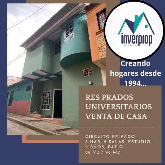 VENTA DE CASA EN PRADOS UNIVERSITARIOS